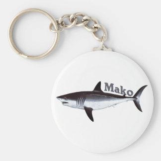 Porte - clé de requin de Mako Porte-clé Rond