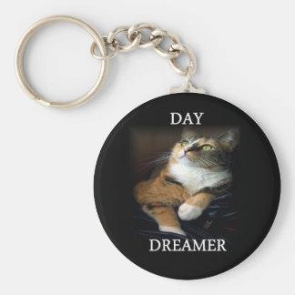 Porte - clé de rêveur de jour porte-clé rond