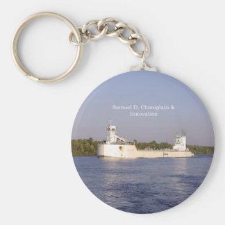 Porte - clé de Samuel D. Champlain et d'innovation Porte-clés