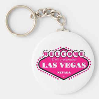 Porte - clé de signe de Las Vegas de ROSES INDIEN Porte-clé Rond