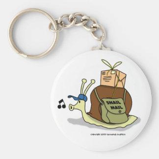 Porte - clé de snail mail porte-clés