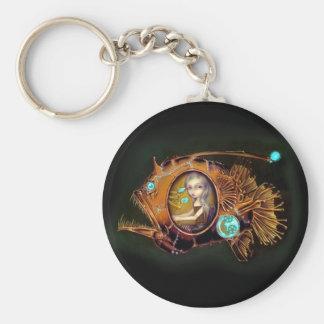 Porte - clé de sous-marin de lotte de mer porte-clés