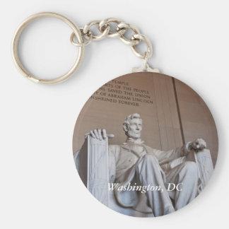 Porte - clé de statue de Lincoln Porte-clés