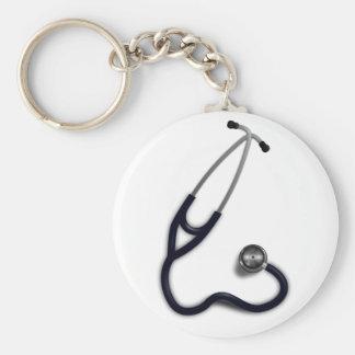 Porte - clé de stéthoscope porte-clés