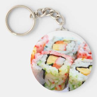 Porte - clé de sushi porte-clé rond