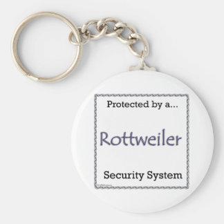Porte - clé de systèmes de sécurité de rottweiler porte-clés