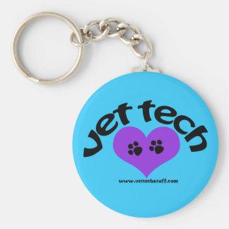 porte - clé de technologie de vétérinaire porte-clé rond