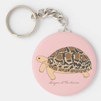 Porte - clé de tortue de léopard (Lion 2) Porte-clé Rond