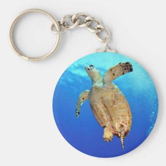 Porte - clé de tortue de mer porte-clé rond