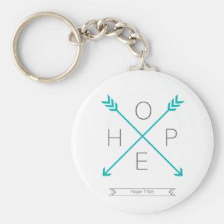 Porte - clé de tribu d'espoir - flèches porte-clé rond