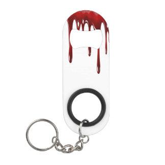 Porte-clé Décapsuleur Le sang de Falln s'égoutte le blanc
