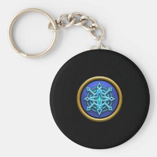 Porte - clé d'école de la glace Wizard101 Porte-clés