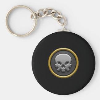 Porte - clé d'école de la mort Wizard101 Porte-clé Rond
