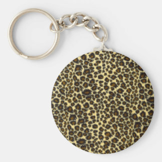 Porte - clé d'empreinte de léopard porte-clef