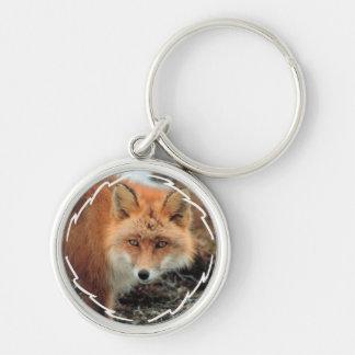 Porte - clé d'espèces de Fox Porte-clé Rond Argenté