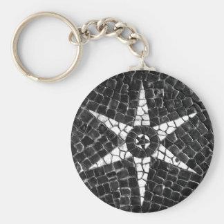 Porte - clé d'étoile d'Arvel Lisbonne Porte-clés