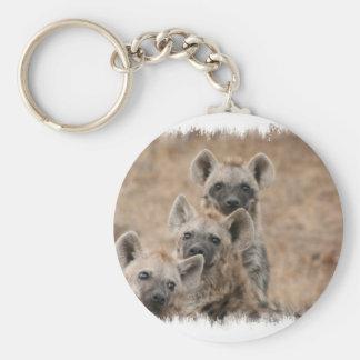 Porte - clé d'hyènes porte-clé rond