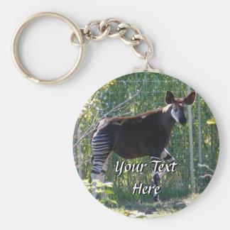 Porte - clé d'okapi porte-clés