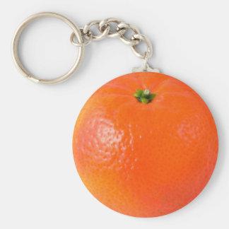 Porte - clé d'orange de clémentine porte-clés