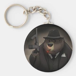 Porte - clé d'ours de bandit porte-clés
