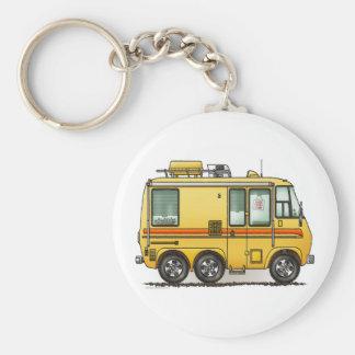 Porte - clé du camping-car de GMC rv Porte-clé Rond