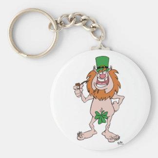 Porte - clé du jour de St Patrick Porte-clé Rond