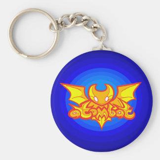 porte - clé du logo v2 d'atombat porte-clés