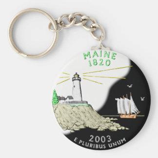 Porte - clé du Maine Porte-clé Rond