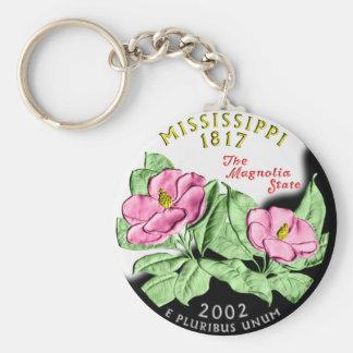 Porte - clé du Mississippi Porte-clé Rond