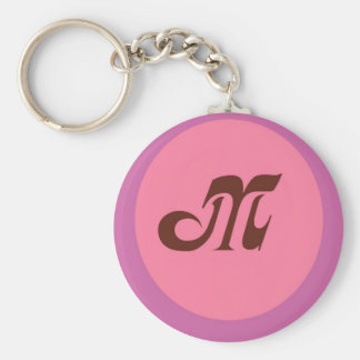 Porte - clé du monogramme M Porte-clés