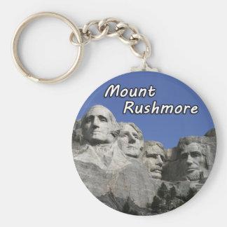 Porte - clé du mont Rushmore Porte-clé Rond