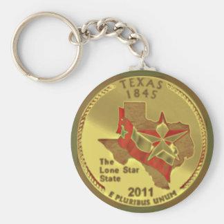 Porte - clé du Texas Porte-clé Rond