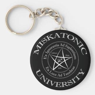 Porte - clé d'université de Miskatonic Porte-clé Rond