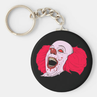 porte - clé effrayant de clown porte-clés