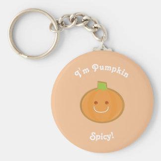 Porte - clé épicé du citrouille | porte-clés