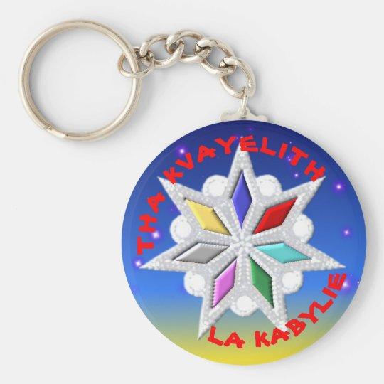 Porte-clé étoile kabyle