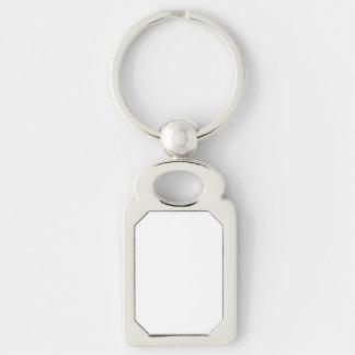 Porte - clé fait sur commande de rectangle porte-clés
