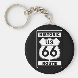 Porte - clé historique de l'itinéraire 66 porte-clés