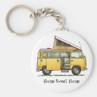 Porte - clé HSH de camping-car de Campmobile Porte-clé Rond