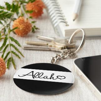 Porte - clé islamique de porte-clés d'Allah en
