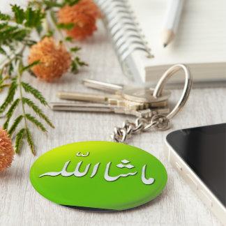 Porte - clé islamique de porte-clés de MashAllah