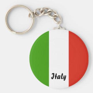 Porte - clé italien de drapeau porte-clés
