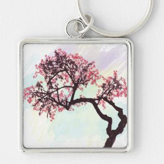Porte - clé japonais de fleur de cerisier porte-clés
