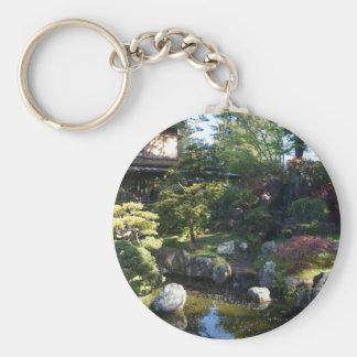 Porte - clé japonais du jardin de thé de San Porte-clé Rond