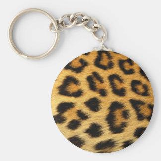 Porte clé léopard porte-clé rond