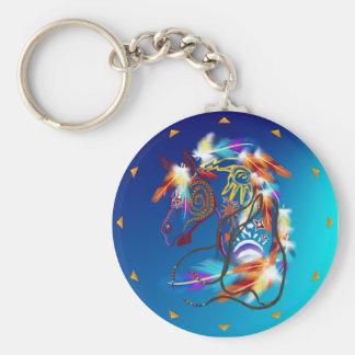 Porte - clé lumineux de cheval porte-clés
