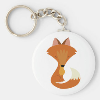 Porte - clé mignon de Fox Porte-clé Rond