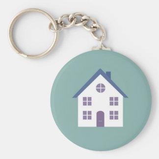 Porte - clé mignon de maison porte-clé