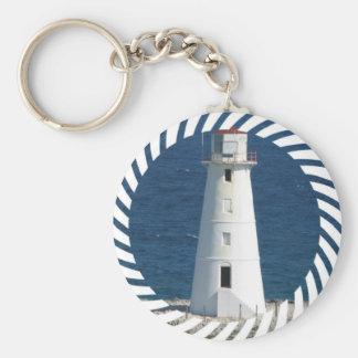 Porte - clé nautique de phare porte-clé rond