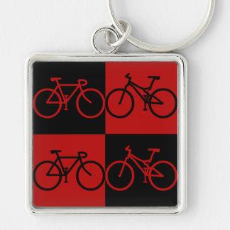 Porte - clé noir et rouge de BCF de vélo Porte-clés